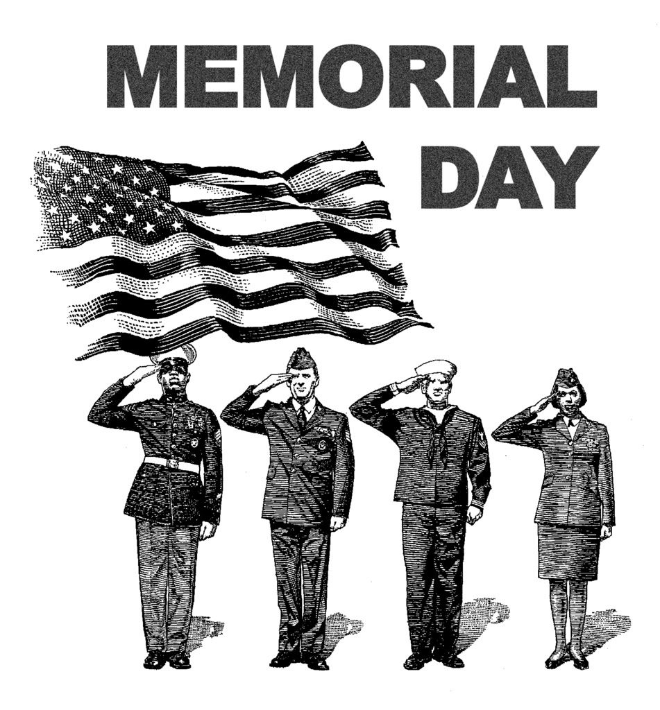 Happy memorial day clipart free download 7