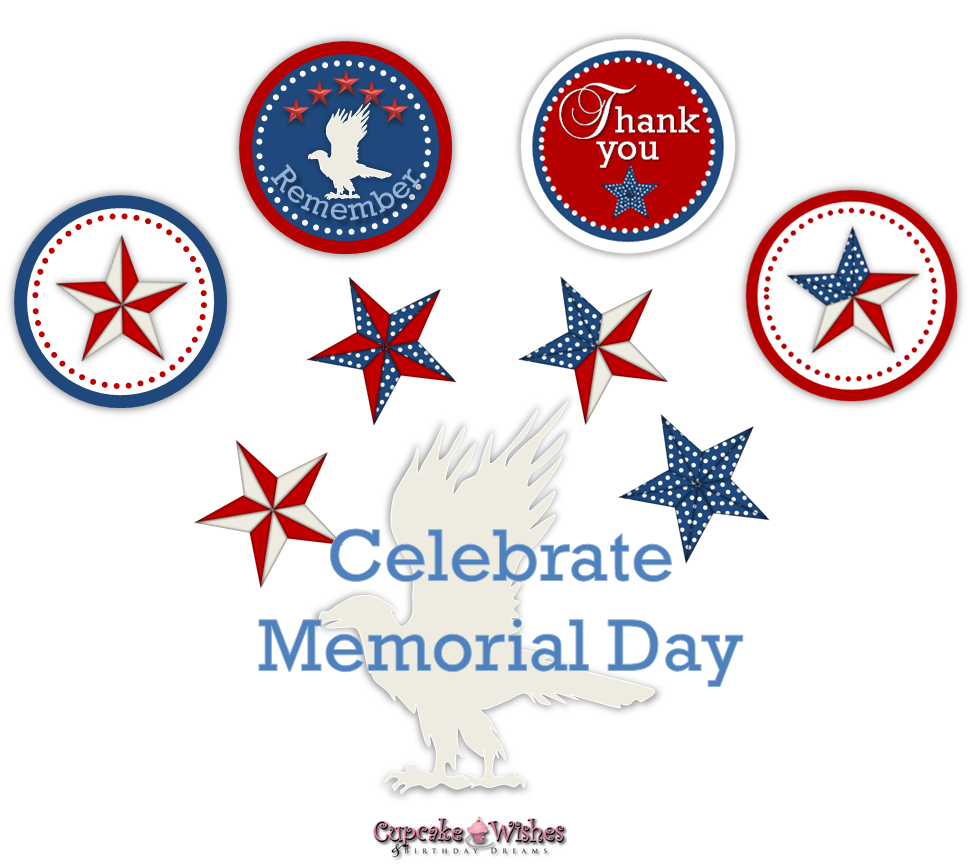 Memorial day 6 messages sms clip art 2