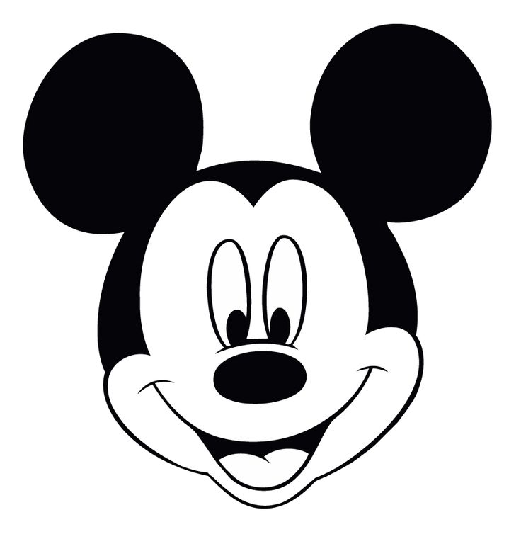 Mickey mouse head ideas on cliparts