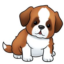 Puppy pictures of cute cartoon puppies clipart silhouette cameo 2