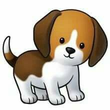 Puppy pictures of cute cartoon puppies clipart silhouette cameo