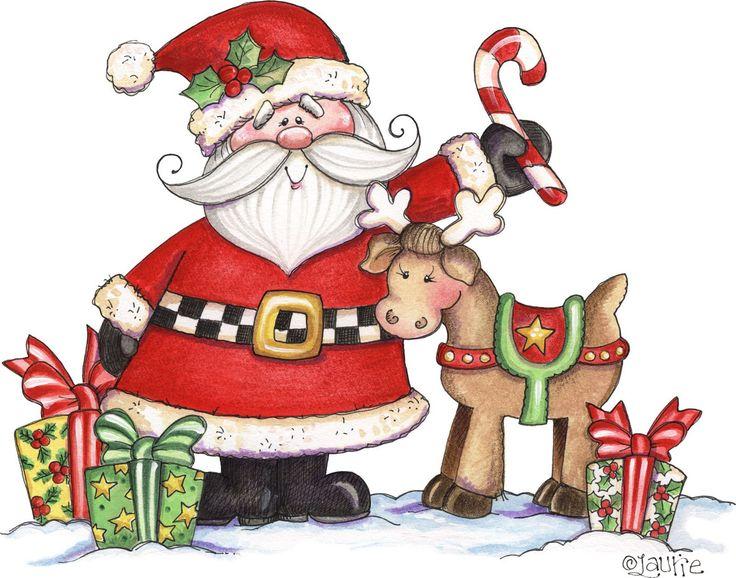 Santa christmas clip art images on 2