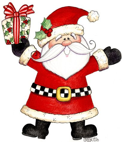 Santa christmas clipart images on christmas clipart