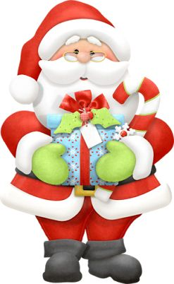Santa christmas winter clip art images on