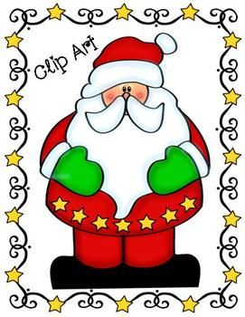 Santa claus clipart images on christmas 2