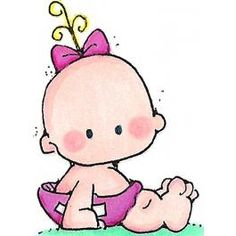 Baby cute little girl clipart clipartxtras
