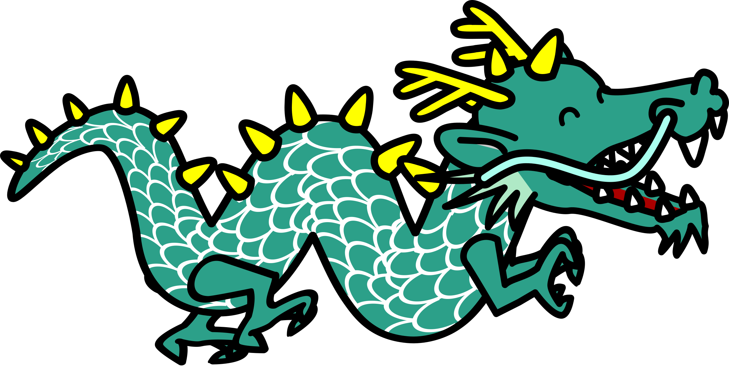 Clipart dragon clipartandscrap