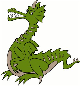 Free dragons clipart graphics images and photos