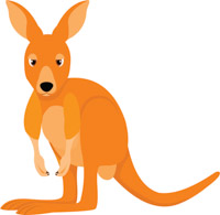Free kangaroo clipart clip art pictures graphics illustrations 3