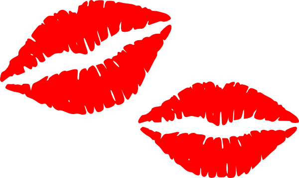 Free vector art lips clipart