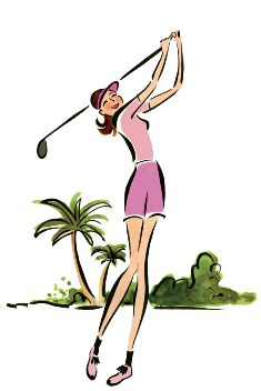 Ladies golf clip art free women golfer golf clips 2