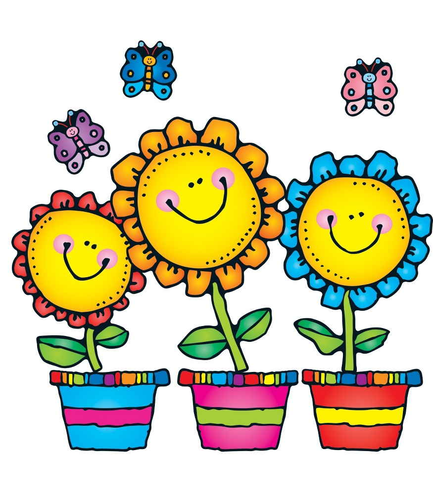 May flowers blooming clipart