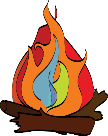 Campfire free to use clipart clipartandscrap