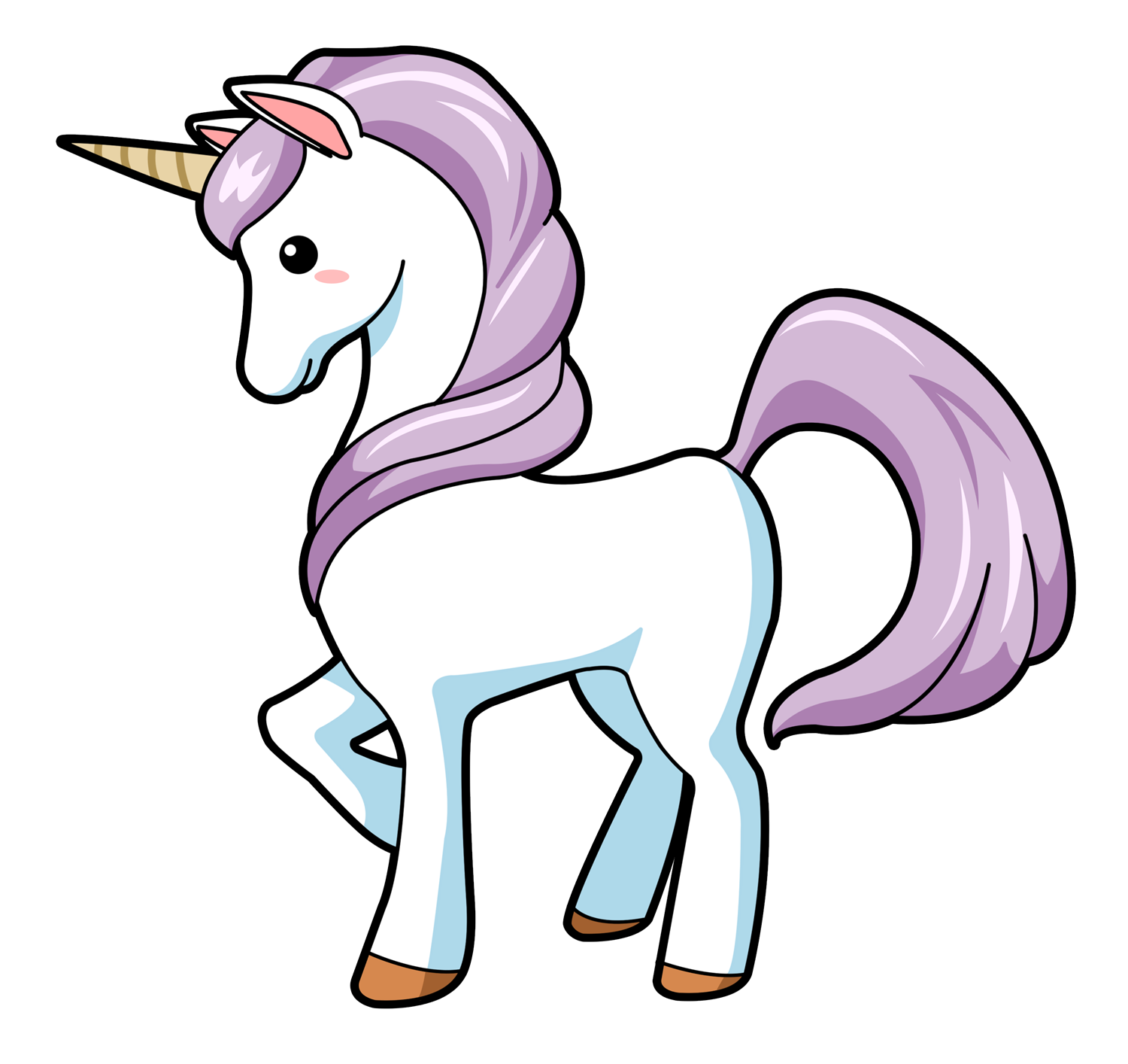 Unicorn free to use cliparts
