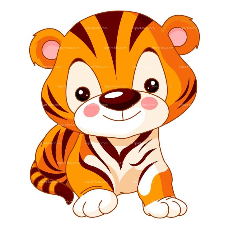 Animals clipart cute tiger gallery free images