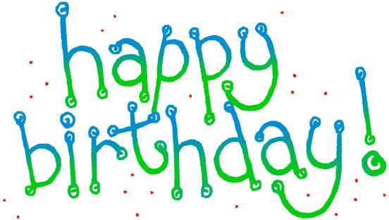 Free happy birthday clipart and graphics to for invitations the