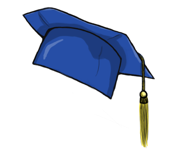 Graduation hat flying graduation caps clip art cap line 6