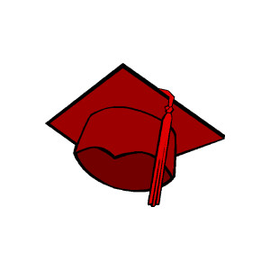 Graduation hat graduation cap clip art free cliparts suggest
