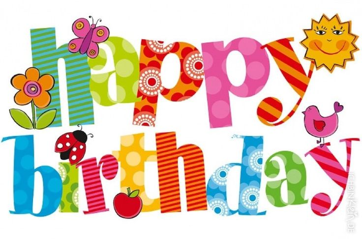 Happy birthday clip art free download