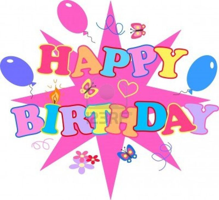 Happy birthday clip art images on