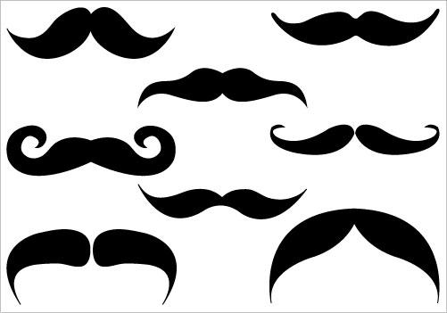 Mustache moustache clipart free images 3