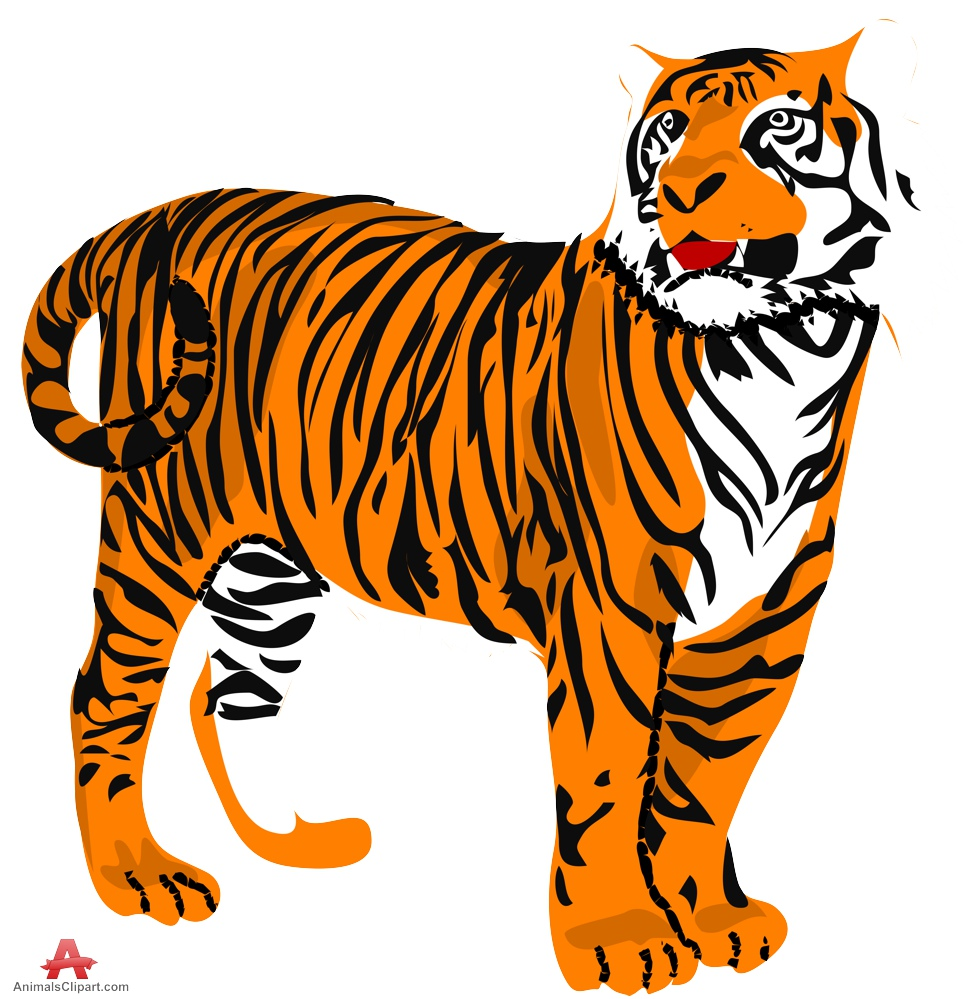 Tiger clip art clipart photo 3