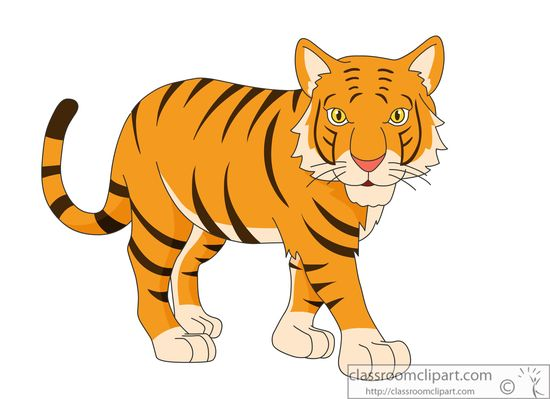Tiger transparent clipart