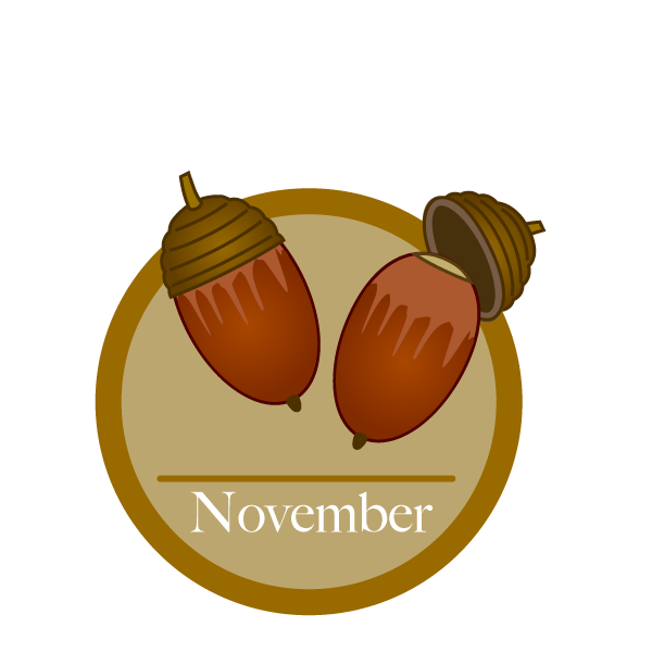 Free november clipart image cartoon
