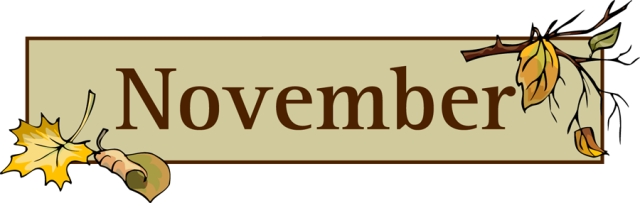Funny november clipart