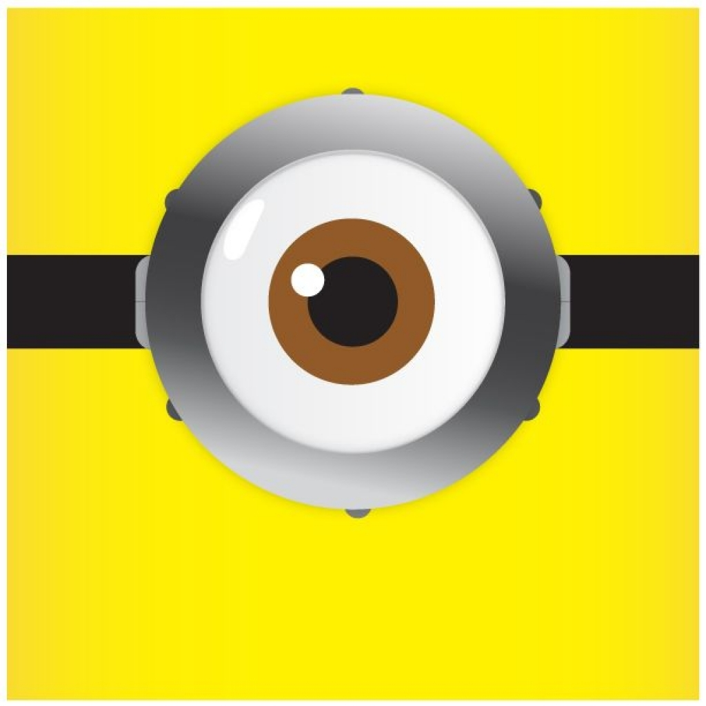 Minion eyes clipart