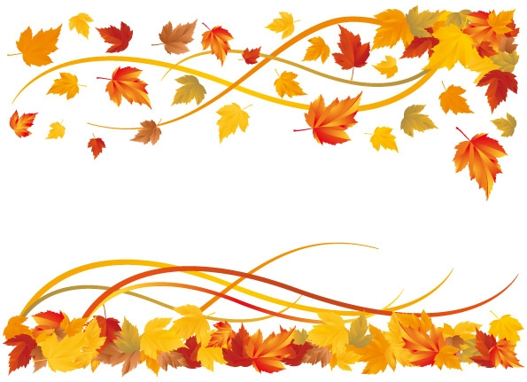 November borders clipart