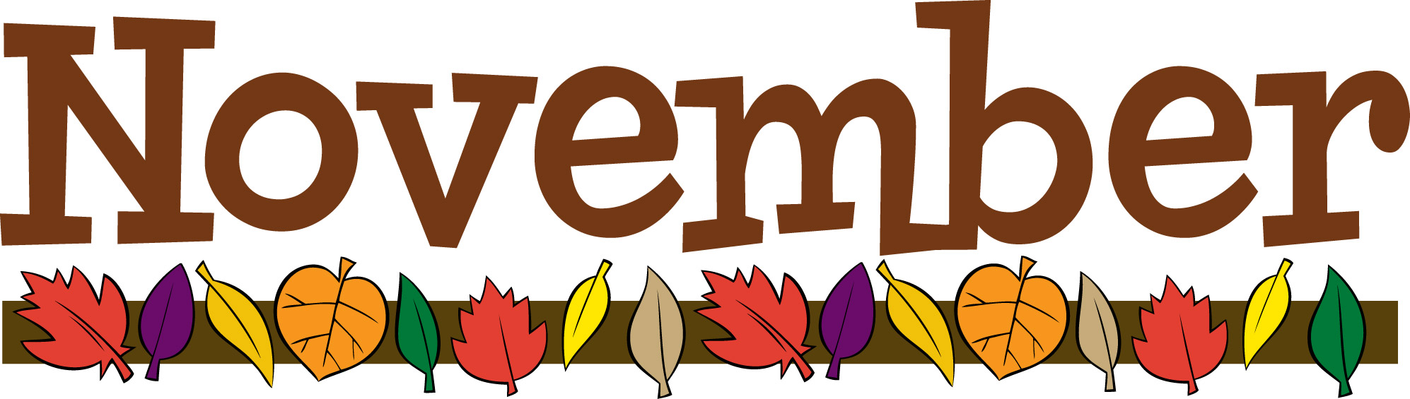 November clip art clipart photo