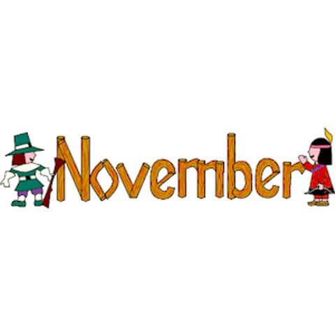November clipart cute clipartxtras