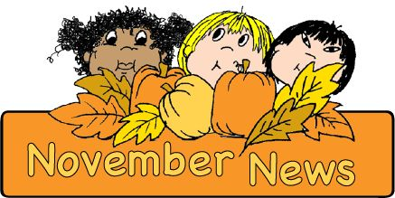 November news clipart