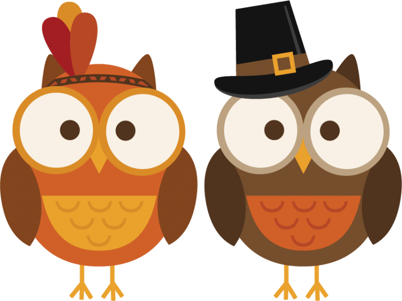 November owl clipart
