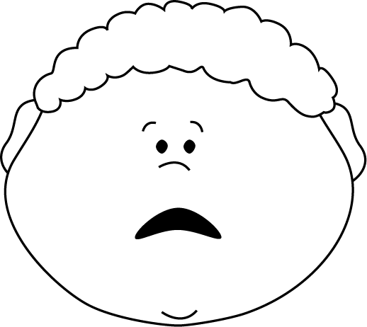 annoyed face Mad face scared faces clip art png