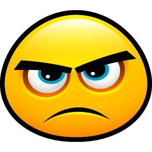 annoyed face Happy emoticon excited clipart jpg
