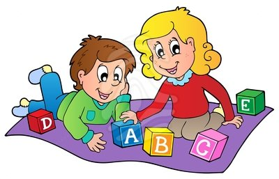 baby playing Kids at play clipart free download on jpg