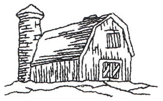 barn outline Barn front outline br 5 john deer'ultimate stash jpg