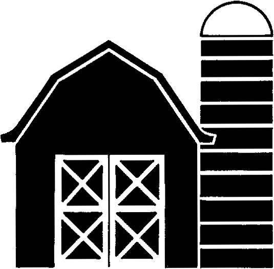 barn outline Barn clipart black and white danaspad top 2 png
