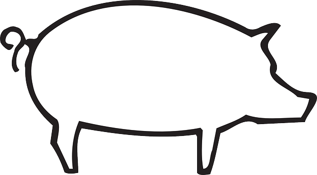 barn outline Outline barn farm pig art animal pictures png