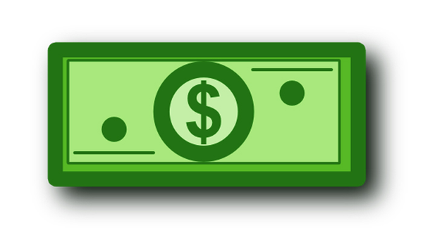 New free dollar bill clip art for your clipart with jpg