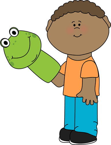Little boy playing with a puppet boys clip art png