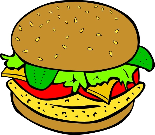 Chicken burger clip art free vector in open office drawing svg jpg