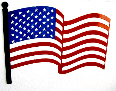 cartoon american flag American flag cartoon clipart jpg