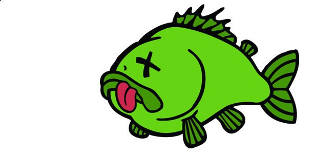 Cartoon dead fish free download clip art on jpg
