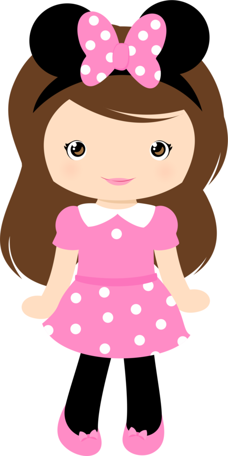 cartoon girl Cute clipart grafos club house minus mu ecos png