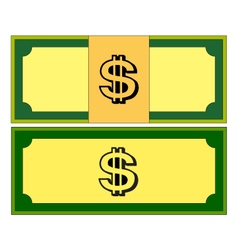 Cartoon money bills dollar cash free vector image jpg