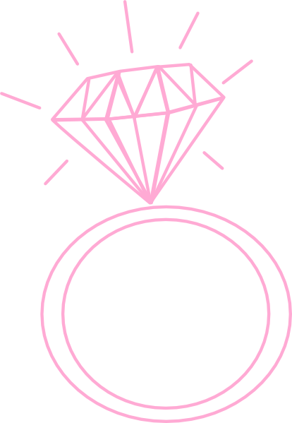 Cartoon wedding rings engagement ring clip art 9 jpg