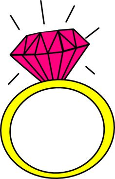 cartoon wedding ring Engagement ring cartoon clip art 9 engagement rings jpg